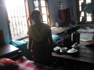 A typical hostel room that I visited.