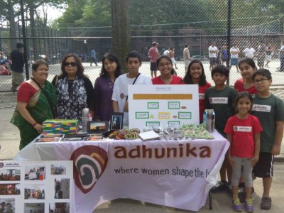 Adhunika Jr. Team at Chatpoti Mela, Queens, NYC